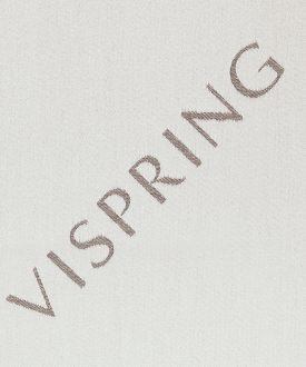 VISPRING LOGO- Pale Silver-591