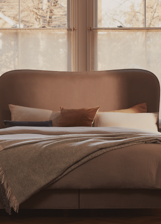 Vispring Made Bed Warm Tones