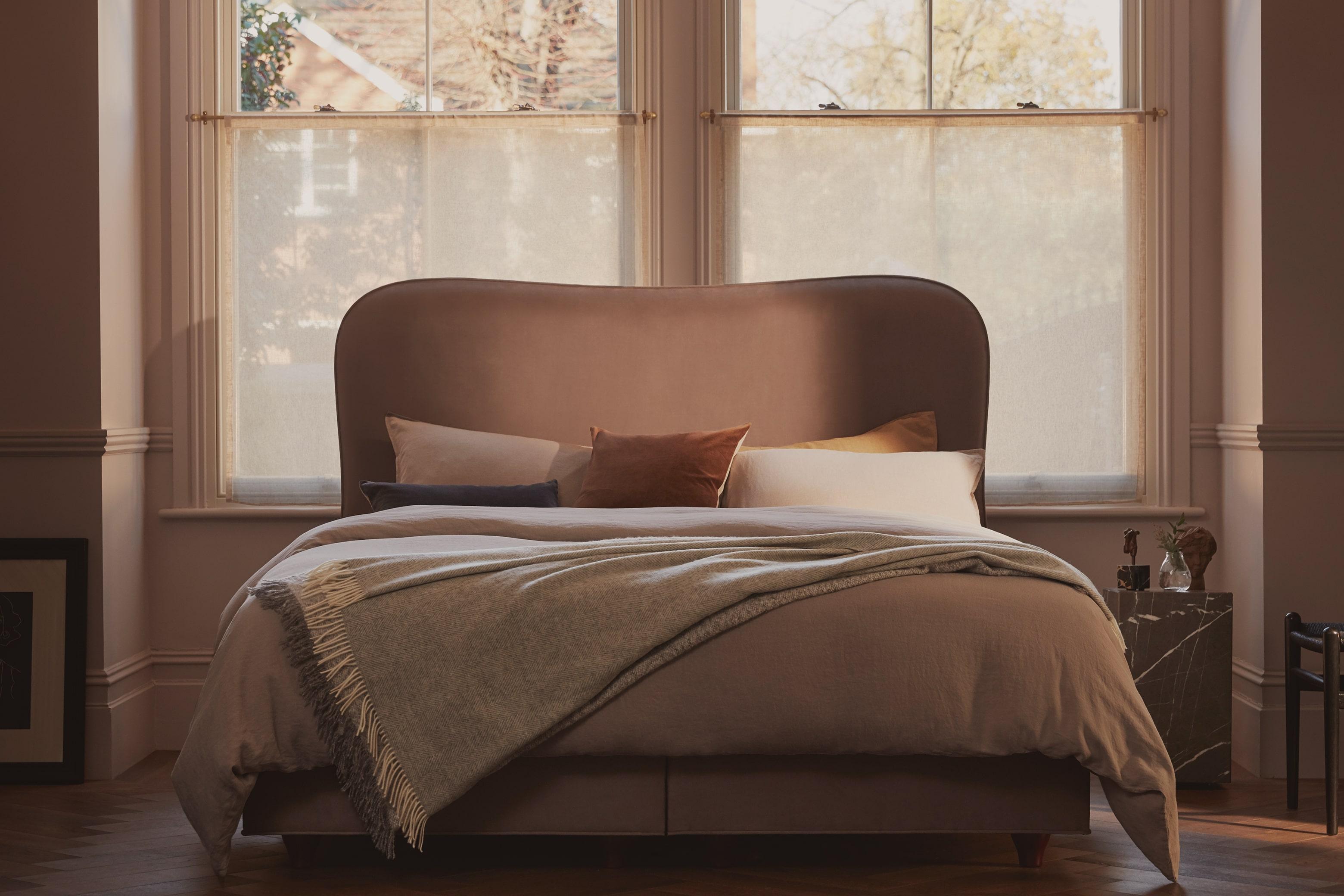 Vispring Made Bed Warm Tones