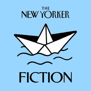 The New Yorker Fiction Podcast Blue Artwork