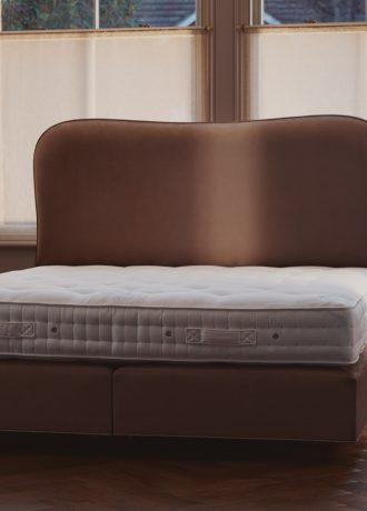 Vispring Bed Bedroom Pink Undressed Bed